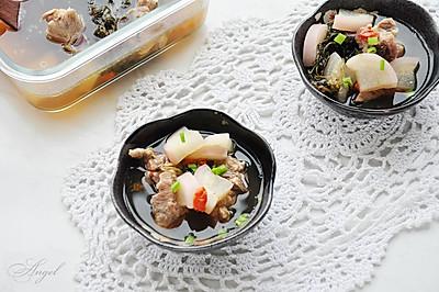 蒲公英龙骨汤