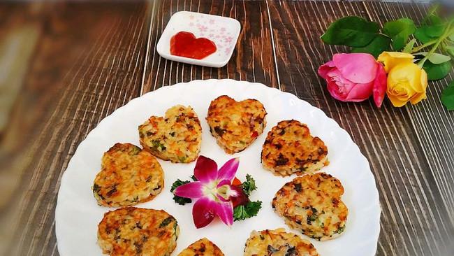 营养丰富的~心形❤米饭团的做法