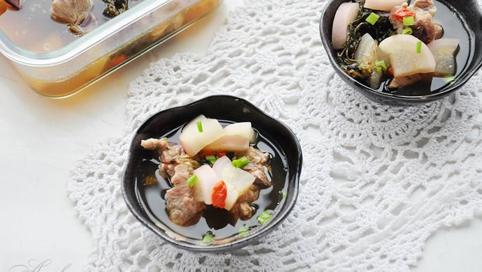 #母亲节,给妈妈做道菜#蒲公英龙骨汤