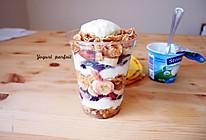 缤纷酸奶杯【满分营养yogurt parfait】的做法