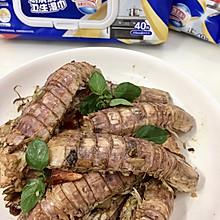 #厨房有维达洁净超省心#爆炒椒盐皮皮虾