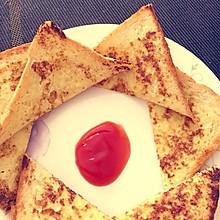 一分钟早餐-鸡蛋面包片