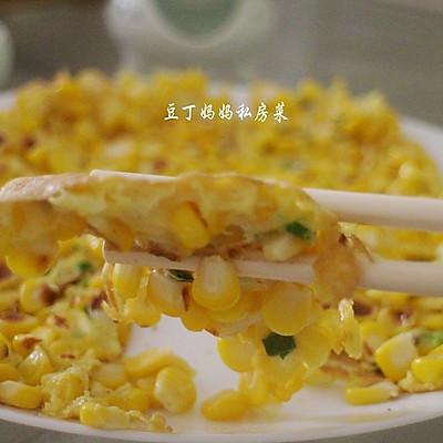 營養美味早餐【玉米雞蛋餅】超級簡單,只需三分鐘