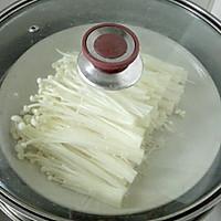 蒜蓉米椒蒸金针菇#方太蒸爱行动#的做法图解2