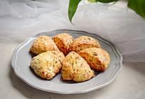香葱培根芝士司康#花10分钟,做一道菜!#的做法