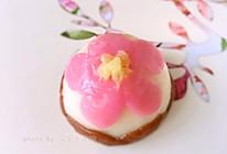花朵冰皮月饼(微波炉版)#手作月饼#的做法