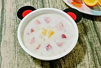 #我的养生日常-远离秋燥#奶香水果燕麦粥 (宝宝辅食)的做法