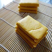 黄金茯苓糕#美的绅士烤箱#