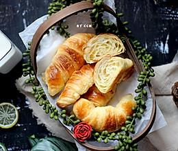 #初春润燥正当时#法式传统牛角包的做法