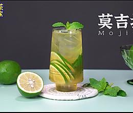 周杰伦同款【莫吉托】柠檬茶的做法的做法
