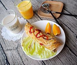 手抓饼---五分钟快手早餐So easy!的做法