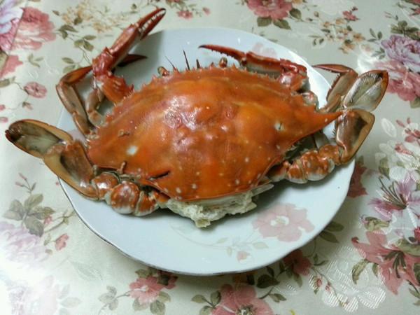 蒸海螃蟹的做法