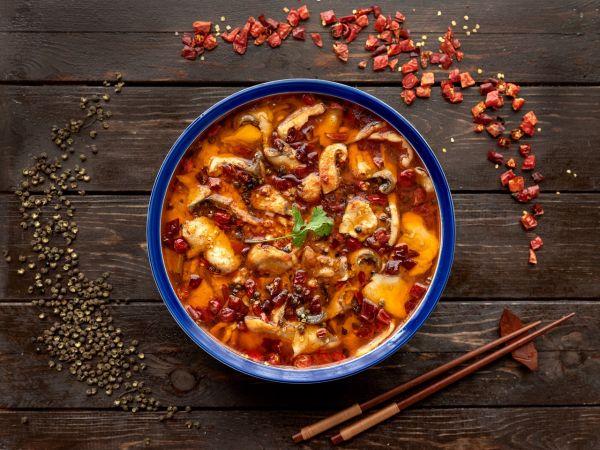年夜菜—川香水煮鱼的做法