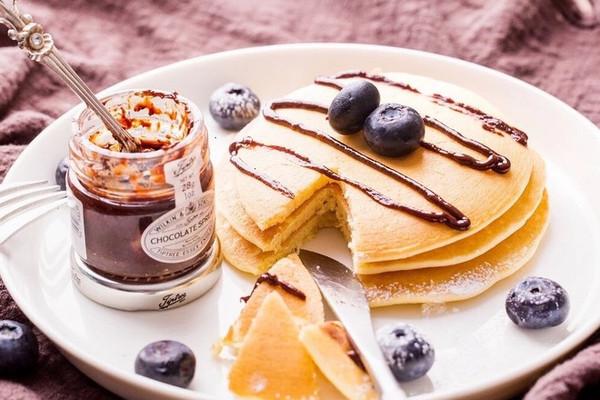 松软绵密的小松饼Pancake   超快手早餐的做法
