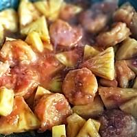 菠萝咕咾虾#母亲节,给妈妈做道菜#的做法图解16