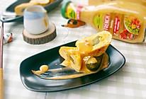 酸黄瓜厚蛋烧的做法