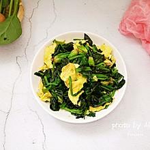 #网红美食我来做#菠菜炒鸡蛋
