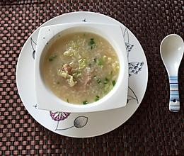 姜丝排骨粥的做法