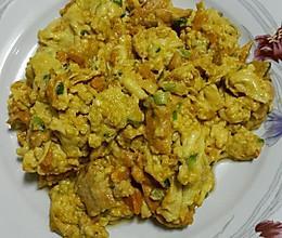 海胆炒蛋的做法