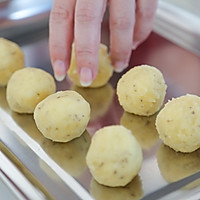 花开富贵—杏仁片土豆泥的做法图解6