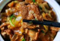 白菜粉皮炖排骨的做法