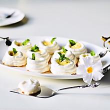柠檬奶油卡仕达蛋白酥杯#带着美食去踏青#