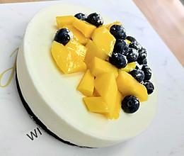 软糯的牛奶慕斯蛋糕(初恋的感觉)的做法