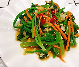 减脂菠菜的做法