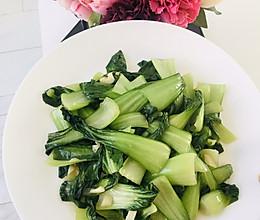 清炒小油菜(家常菜)的做法