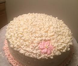 生日蛋糕裱花的做法