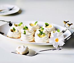 柠檬奶油卡仕达蛋白酥杯#带着美食去踏青#的做法