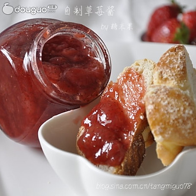 自制草莓醬