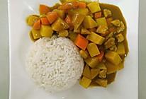 咖喱咖喱饭#亮出喱的厨艺#的做法