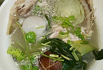 香菇上海青鲤鱼汤(孕妇可以喝的鱼汤)的做法