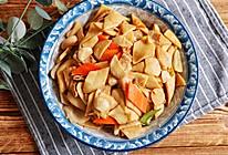 #福气年夜菜#腊八蒜炒杏鲍菇的做法