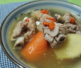 宁夏枸杞排骨汤的做法