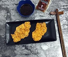 香炸猪排#丘比沙拉汁#的做法