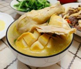 营养鲍鱼鸡汤的做法