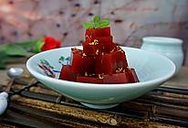 桂花山楂糕-----零添加健康甜点开胃必备的做法