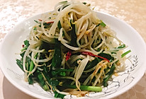 #餐桌上的春日限定#韭菜炒绿豆芽的做法