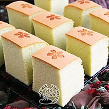 #换着花样吃早餐# 细腻柔软的大麦若叶日式棉花蛋糕