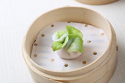 像生白菜饺#金龙鱼专业饺子粉#