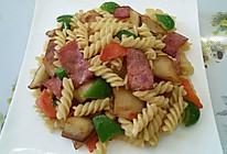 土豆培根意大利面的做法