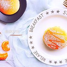 减脂期超快手治愈系早餐蜂蜜松饼