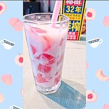 #夏日消暑,非它莫属#椰奶蜜桃冻