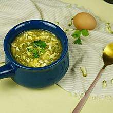 槐花酸辣汤