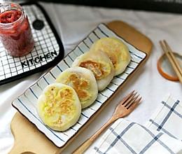 山楂果酱糯米馅儿饼的做法