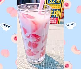 #夏日消暑,非它莫属#椰奶蜜桃冻的做法