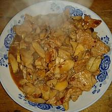 肉炒杏苞菇