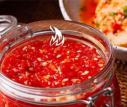 【蒜蓉辣椒酱】大蒜辣椒做个酱,东北人调味一绝!的做法